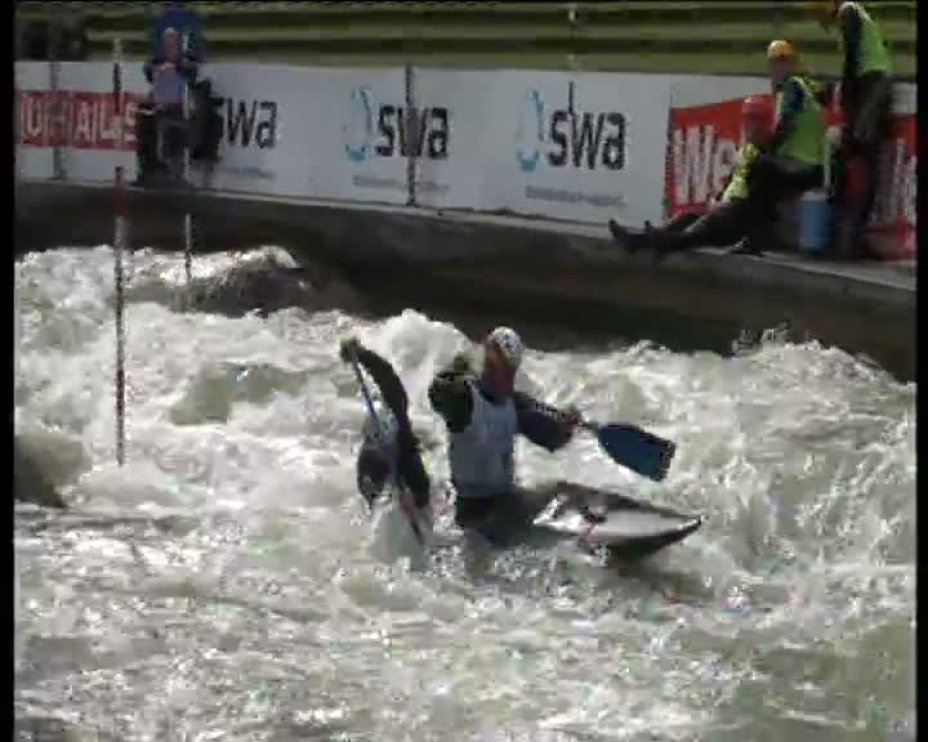 Becker / Behling Olympia-Quali 2012 A-Finale C2M 21.04.2012