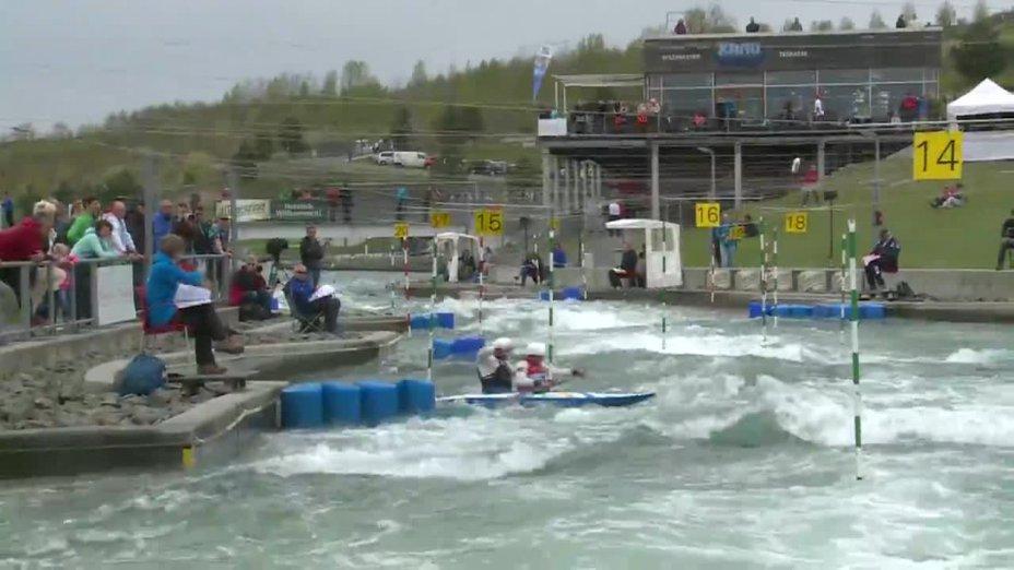Beste / Loos - Quali 2015 |Rennen1|C2-Herren-Finale / Markkleeberg