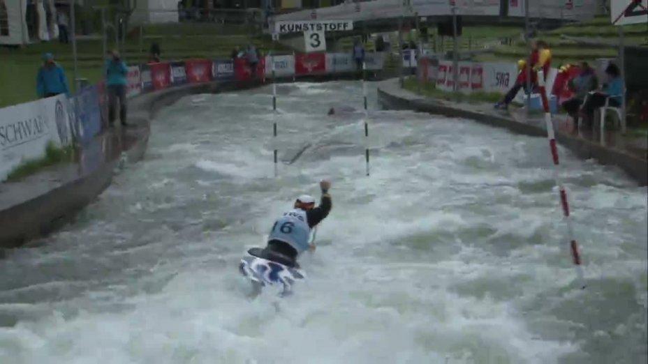 David Schröder - Quali 2015 |Rennen 3|C1-Herren-Finale / Augsburg