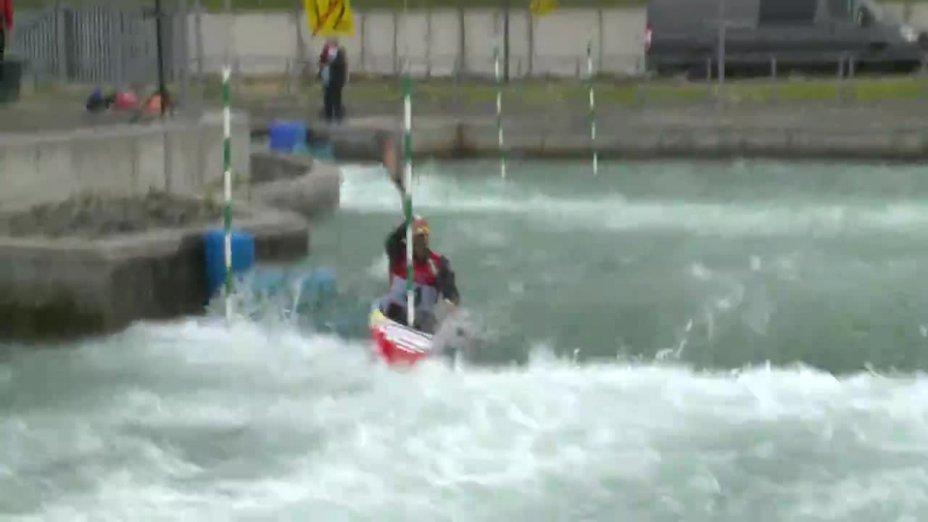Hannes Aigner - Quali 2015 |Rennen1|K1-Herren-Finale / Markkleeberg