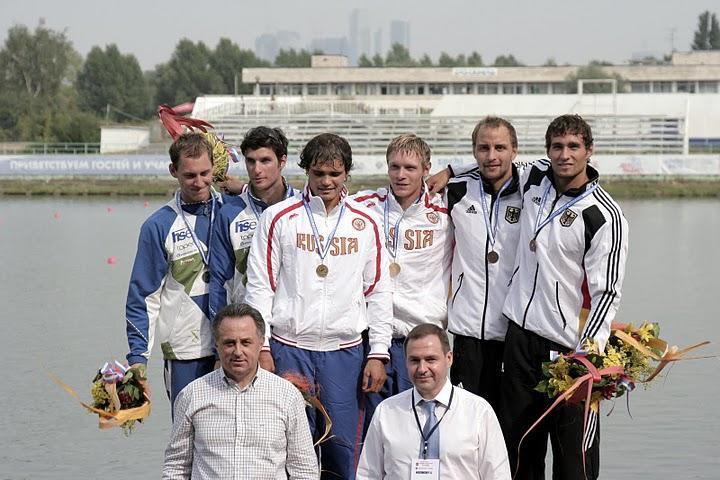 Siegerehrung U23 EM