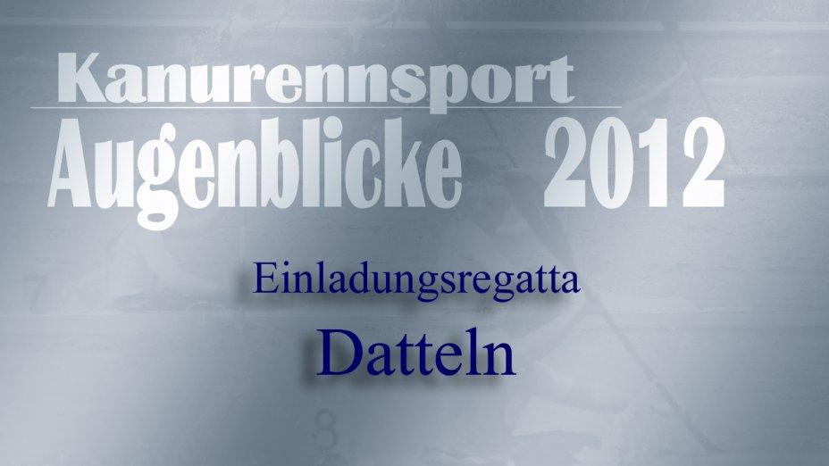 53. Kanuregatta Datteln 2012