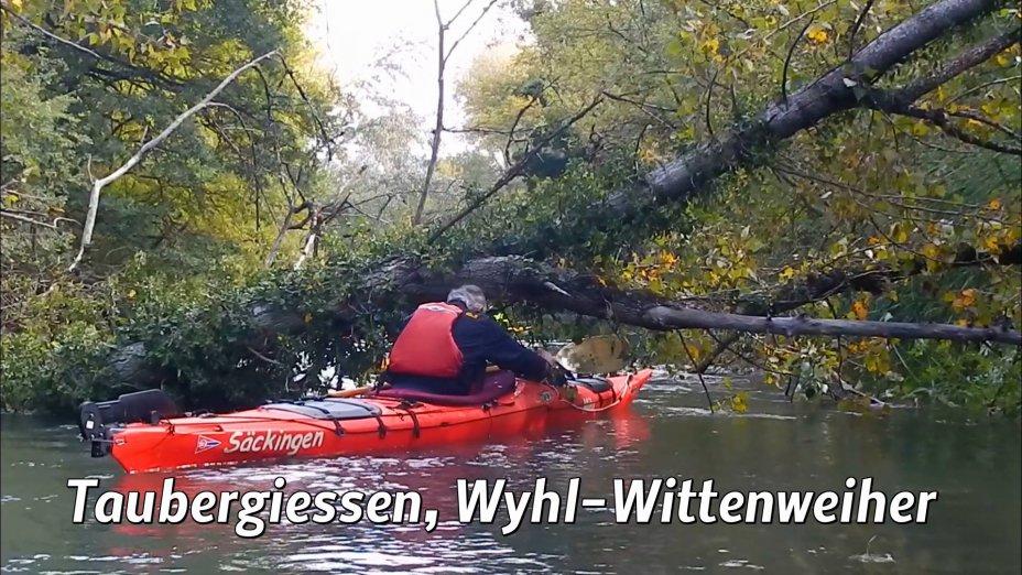 Brunnenwasser, Taubergiessen, obere ILL, Flüsse um Kehl und Strasbourg.